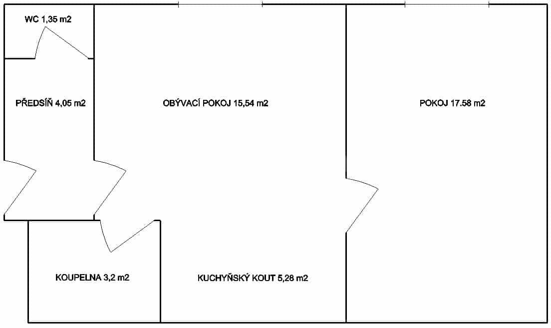 למכירה דירת 2 חדרים לפני שיפוץ בפראג 6 היוקרתית (13)