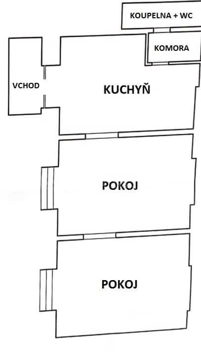 למכירה דירת 2+1 בפראג 8 קרלין, מקואופרטיב (10)