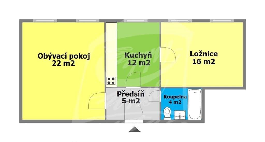 למכירה בפראג 1 דירת 2+1 בגודל 64 מר (3)