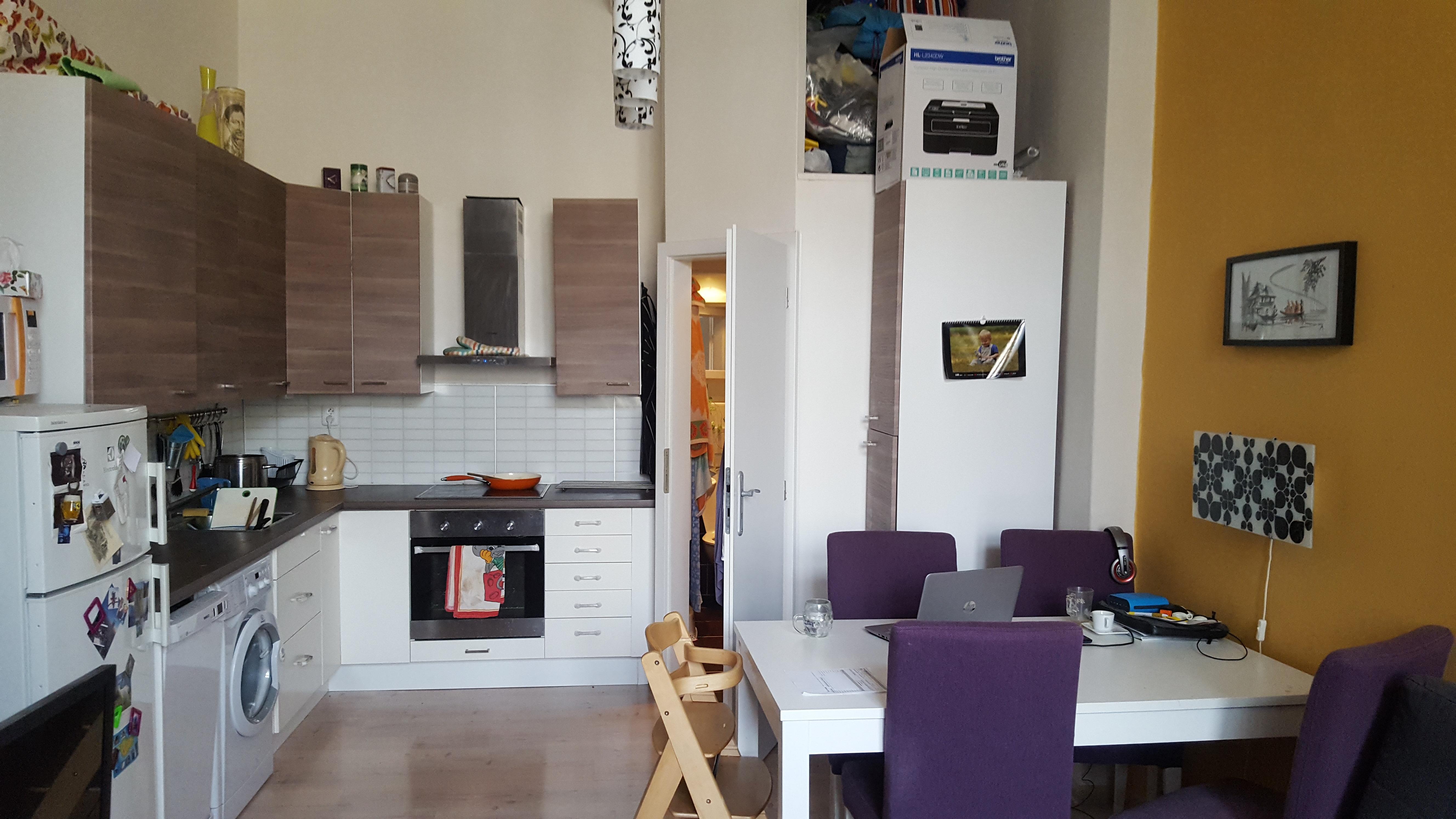 למכירה בשכונת Liben בפראג 8 דירת 2+KK בגודל 42 מר (2)