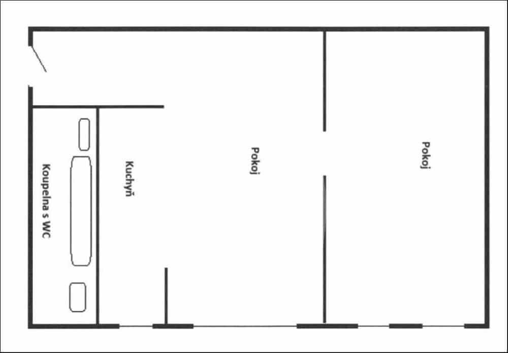 למכירה דירת 1+1 בגודל 41 מר בפראג 6 (6)