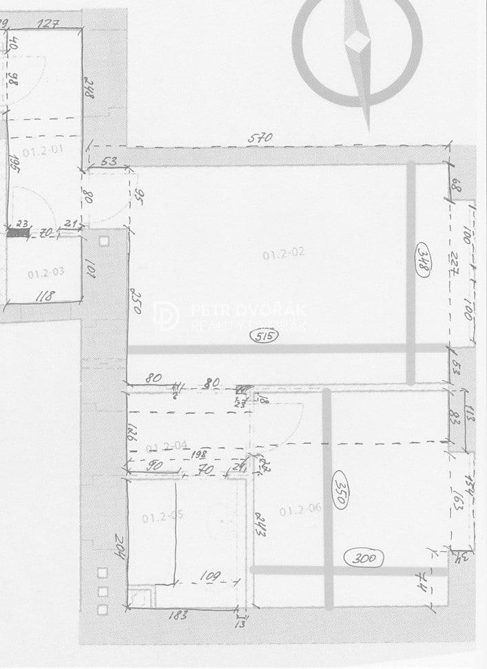 למכירה דירת 2+kk בפראג 2 בגודל 44 מר (11)