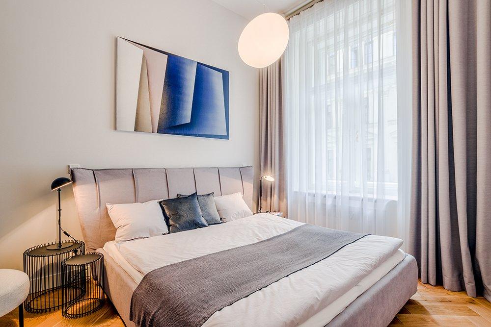 образцовая квартра спальня
