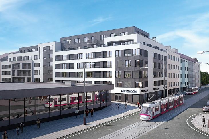 למכירה דירות בפרויקט מגורים חדש בפראג 9