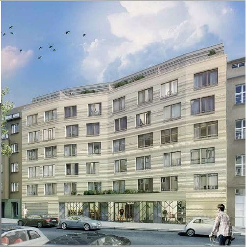 למכירה בפראג 10 דירות ושטחי מסחר בפרוייקט חדש