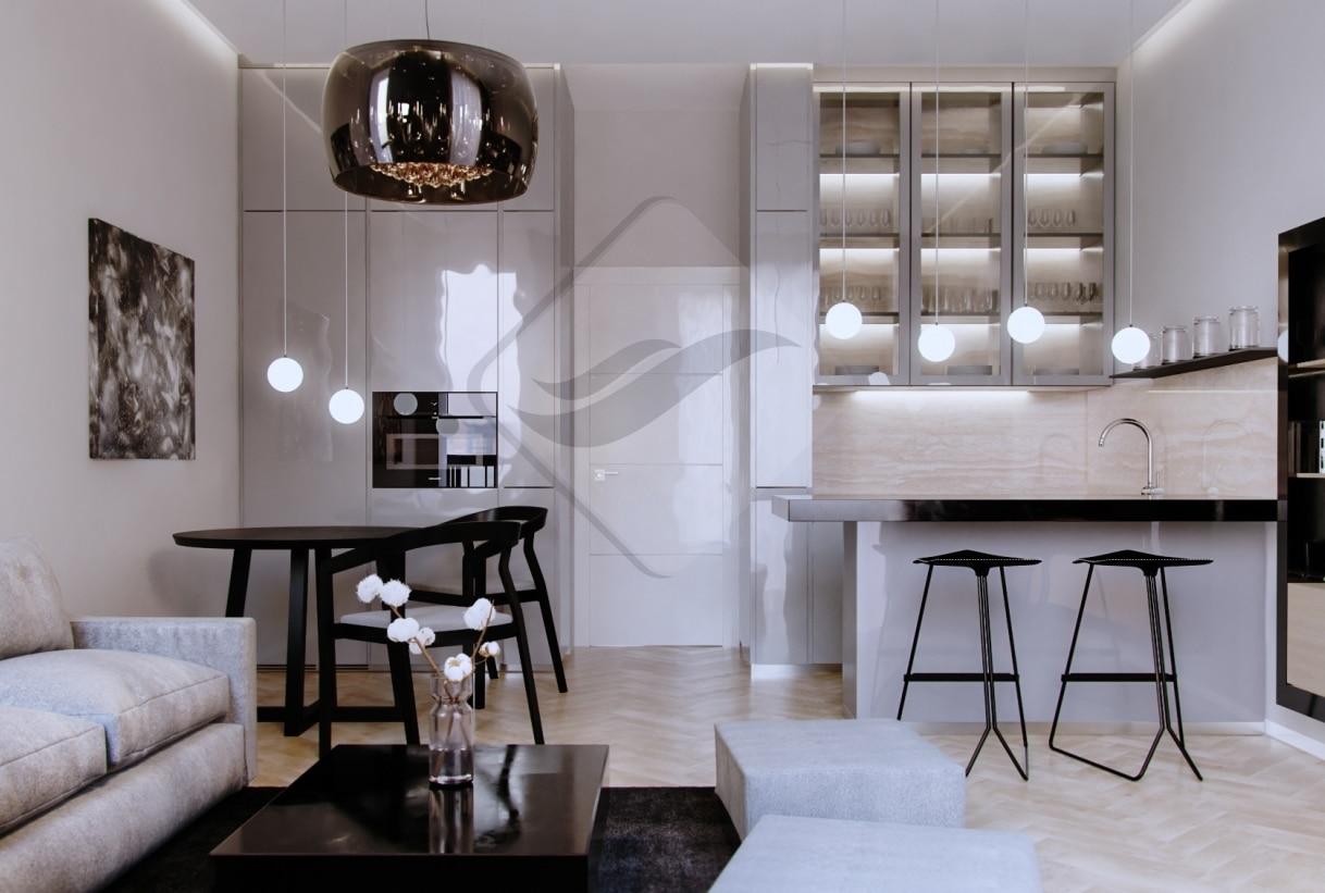 """למכירה בפראג 3 דירת 2+KK בגודל 47 מ""""ר"""