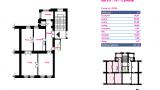 דירה מספר 6 שלישית 98 מטר רבוע 3-1