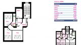 דירה מספר 8 גג 96 מטר רבוע 3-1