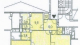 """דירת 83 מ""""ר, 3 חדרים+1, ליד קניון הפלדיום, פראג 1 (2)"""
