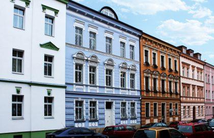 למכירה בניין משולב מגורים ומסחר במרכז פילזן (Pilsen), צ'כיה