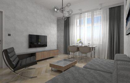 למכירה דירה ענקית בשכונת וינוהרדי היוקרתית בפראג 2