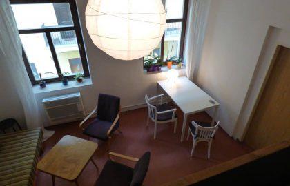 """למכירה דירת לופט מושכרת בגודל של 33 מ""""ר בפראג 8 ליד הרובע ההיסטורי"""