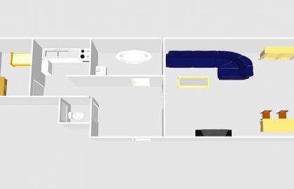 נכס שמור: למכירה דירת 2+kk בשכונת דיוויצקא – פראג 6