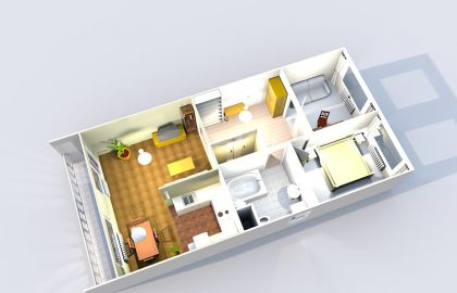 למכירה דירת 3 חדרים בשכונת סמיכוב פראג 5