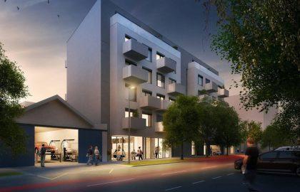 """למכירה נכס מסחרי 201 מ""""ר בפרויקט SMART LIVING NMN שכונת הולושוביצה"""