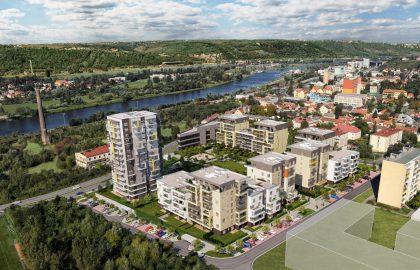 למכירה נכסים חדשים מפרוייקט בפראג 12 – שלב B