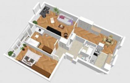 למכירה דירת 3+1 בשכונת וינוהרדי בפראג 10