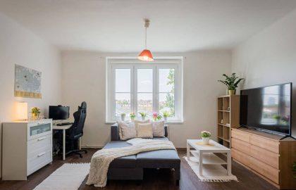 """למכירה בפראג 3 דירת 2+kk בגודל 48 מ""""ר"""