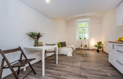 """1 או 4 דירות למכירה בפראג 2 – כל אחת בפריסה של 1+1 בגודל 21 מ""""ר"""