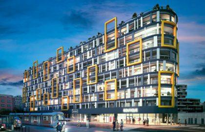 למכירה דירות בפרויקט מגורים חדש בפראג 9 ליד קניון Harfa