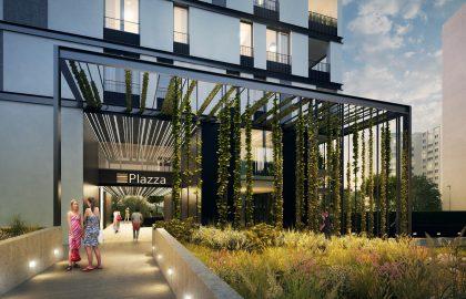 """למכירה דירה בגודל 51 מ""""ר בפרויקט מגורים חדש בשכונת Liben, פראג 8"""