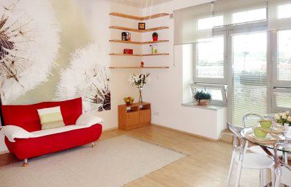 """למכירה בפראג 9 דירת 1+KK בגודל 43 מ""""ר"""