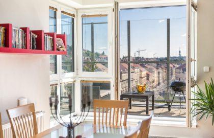 """למכירה בפראג 5 דירת 4+KK (פנטהאוז) בגודל 215 מ""""ר"""
