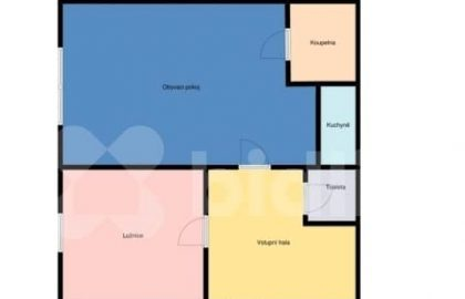 """למכירה בפראג 6 דירת 2+KK בגודל 53 מ""""ר"""